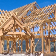 What is timber frame construction